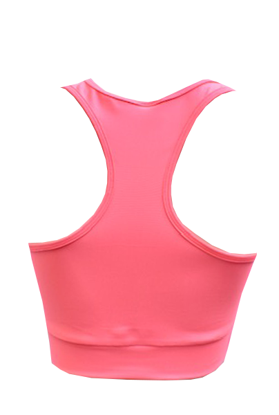 top glossy rosa back