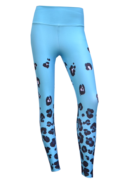 blue cheeta front