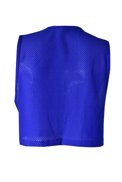 crop top azul back