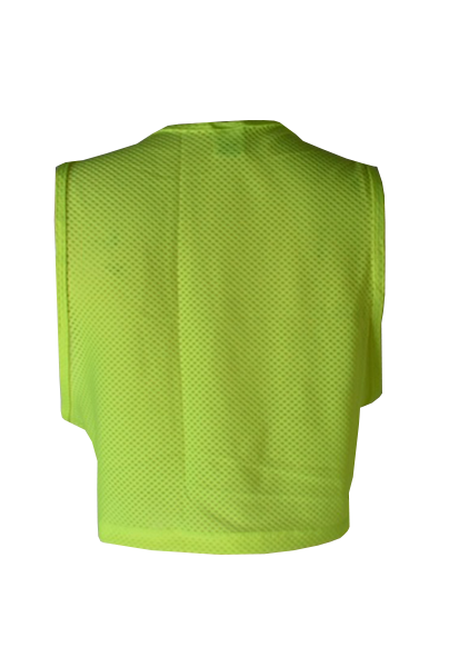 croptop neon amarillo back
